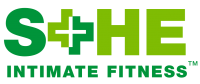 SHE Intimate Fitness™ Logo